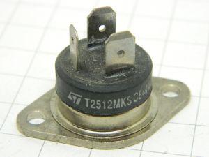 T2512MKS  triac  600V 25A  STM