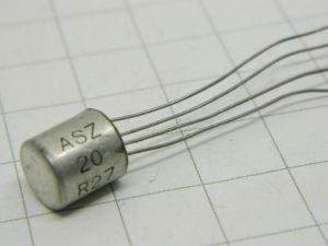 ASZ20  transistor al Germanio  GE