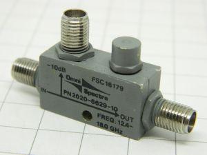 Omni Spectra FSC16179 Directional Coupler 12,4-18Ghz  SMA connector