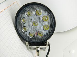 Headlight  Led  12-30Vcc  27W  heavy duty