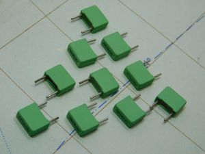 0,047uF 100Vcc condensatore ROE  MKT1822 (n.10 pezzi)