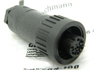 Connector HIRSCHMANN CA6LD 11 ZS  7pin plug female
