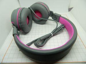 Cuffia stereo alta fedeltà microfono integrato ultra bassi