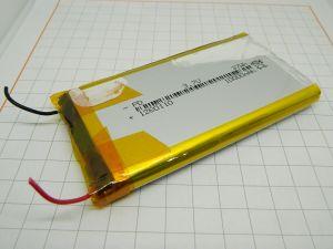 Batteria ricaricabile  Litio 1260110  Li-Po  3,7V 10.000mA/h  37Wh  drone , modellismo