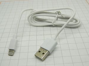 Battery charger cable USB / i-Phone  fast charge  m.1  (n.5pcs.)