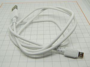 Cavetto carica batterie USB / micro USB carica rapida e dati  m.1  (n.5 pezzi)