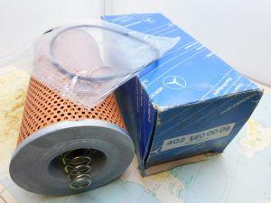 Filtro olio Mercedes 402-180 00 09
