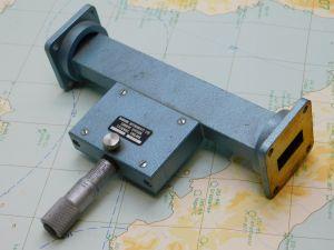 Variable attenuator guida d'onda WR90 8,2-12,4Ghz
