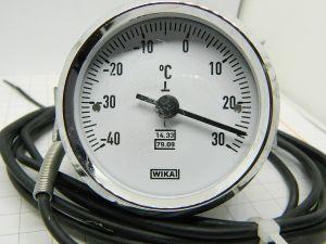 Termometro WIKA  -40 +30°C  diametro mm.64