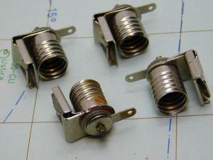 Porta lampada E10 micro mignon (n.4 pezzi)