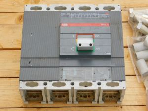 ABB SACE 6SN 630A automatic circuit breaker 3P+1P