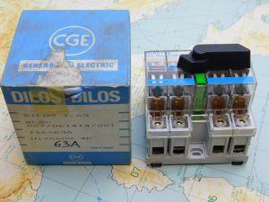 Sezionatore General Electric Wynkier DILOS 1-63  027/061414/201  4poli 63A