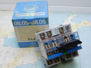 Circuit breaker General Electric Wynkier DILOS 1-80  3poles 80A