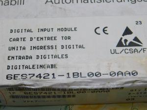 Siemens Simatic 6ES7421-1BL00-0AA0  Digital imput Module