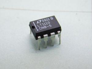LT1110 CN8-5  circuito integrato Micropower DC-DC converter DIP8