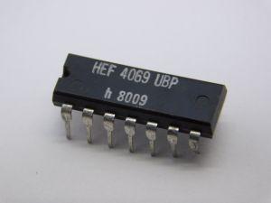 HEF4069UBP circuito integrato