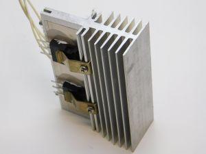 40CPQ100 Diodo Schottky 100V 20A  n.3 pezzi montati su dissipatore