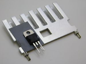 P7NK80Z Mosfet-N  800V 5,2A  con dissipatore