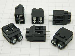 Morsettiera da circuito stampato 2pin passo mm. 7,50 DINKLE ESK750V-0P2-BK  300V 30A (n.6 pezzi)