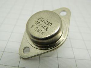 2N6259 transistor darlinghton RCA  100V 20A 160W NPN