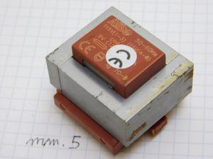 Transformer 115V+115V / 9V 0,5A  4,5VA