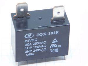 Relè  JQX-102F  24Vcc  20A