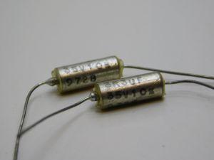 3,3uF 35Vcc condensatore al tantalio assiale KEMET T110  (n.2 pezzi)