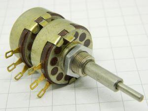 Potenziometro 1Kohm+1Kohm doppio OHMIC