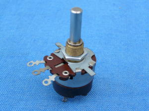 Potentiometer 10K 2W + switch, LESA