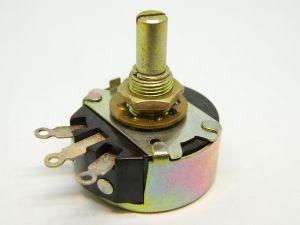 Wirewound potentiometer  500ohm 2W CLAROSTAT RA20NASD501A