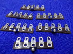 Morsettiera a saldare 5 posti per apparati valvolari (6 pezzi)