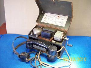 Telefono campale esercito Inglese mod. 1940