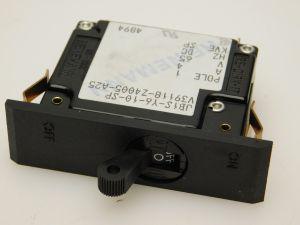 HEINEMANN JB1S-Y6-10-SP interruttore corrente continua 4A 65Vcc  fissaggio a molla