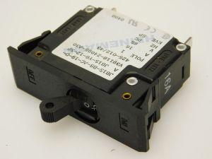 HEINEMANN JB1S-Y6-12-SP interruttore corrente continua 16Amp. 65Vcc fissaggio a molla