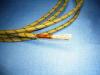 N. 2 Aluminium cables AWG 2 Kapton x mt. 3,10 each