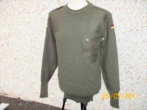 Pullover BW olive green