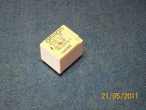 Relay  OMRON G5LB-1-25  coil 12Vdc  1way 10A  250Vac